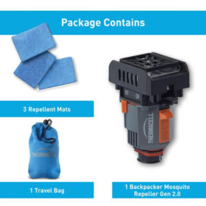 Backpacker Repeller Package Contains